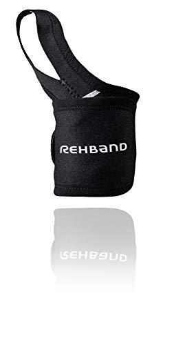 Rehband QD Wrist und Thumb Support Handgelenkbandage, Schwarz, One Size