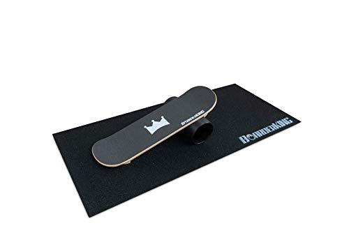 BoarderKING Skate - Indoorboard Skateboard Surfboard Trickboard Balanceboard Balance Board (140 mm)