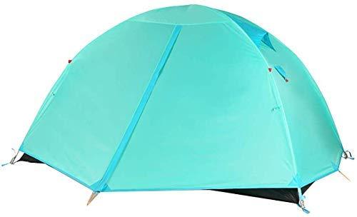KEKEYANG Tent, Ultraligero al Aire Libre Tienda de campaña de la Capa Doble de Sun Refugio instantánea Cabana portátil Sombra Toldo for IR de excursión Supervivencia Montañismo Cámping,