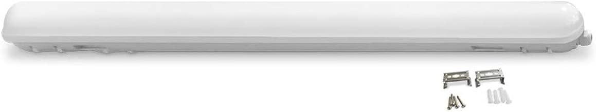 LLT LED Garage Vapor Proof Fixture 4ft 36W 3500K IP66 - Warm White