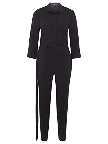 Mavi Damen Overall Regular Fit Long Sleeve Overalls Black S