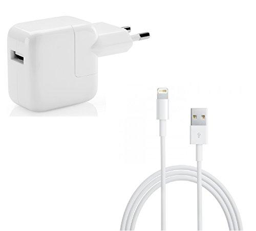 myTech Ladegerat 12W Stromadapter VWNetzteilLadegerat passend fur iPhoneiPadiPod Lightning Kabel Apple MFi zertfiziert 8 Pin auf USB Kabel