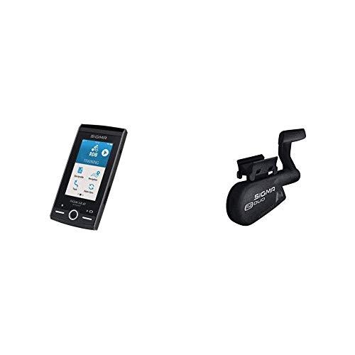 ROX 12.0 Sport Set, GPS Fahrrad-Navigationsgerät, kostenloses OSM Kartenmaterial, 3
