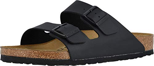 Birkenstock Arizona - Birko-Flor Black Birko-Flor 43 (US Men's 10-10.5, US Women's 12-12.5) Regular