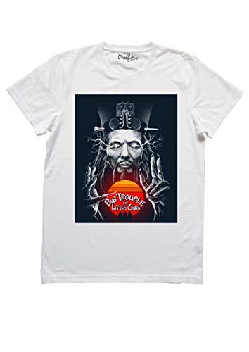 Pressyou T-Shirt - Grosso Guaio a Chinatown - David Lo Pan - by 00410 (XL Donna)