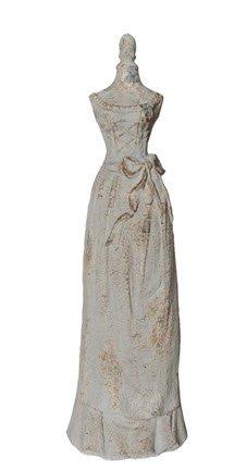Rustic Dress Form Silhouette Statue