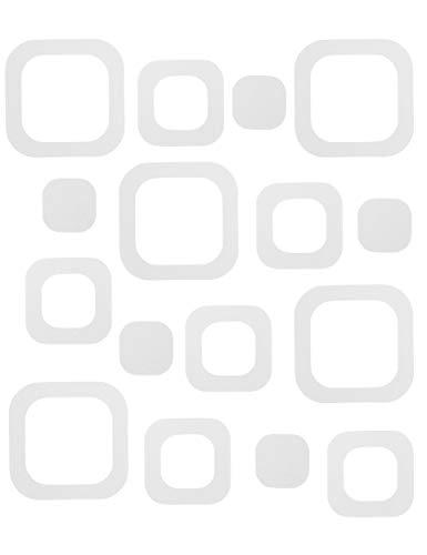 VMbathrooms 24 Anti-Rutsch Aufkleber für Badewanne/Dusche - Transparente und rutschfeste Pads - Selbstklebende Anti Rutsch Sticker + Gratis E-Book