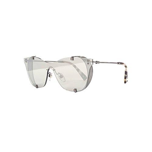 Valentino 0VA2016 30056G 39 Gafas de sol, Gris (Gunmetal/Mirrorsilver), Mujer