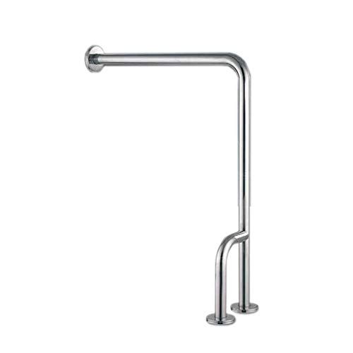 JIAHE115 veiligheidsbeugel voor de badkamer, 304 vloerbedekking van roestvrij staal armleuning WC beheer Anziani H-Art