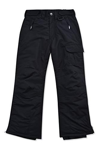 Arctic Quest Childrens Water Resistant Ski Snow Pant Black 18