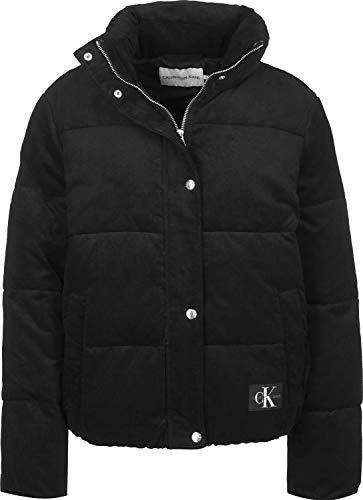Calvin Klein Jeans Corduroy Puffer W Chaqueta de Invierno