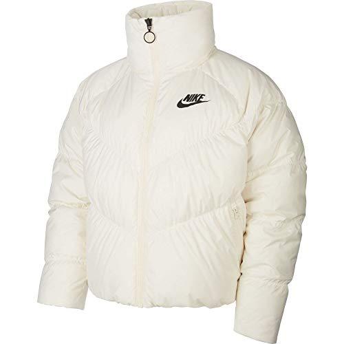 Nike Damen Sportswear Weste, helles Elfenbein/schwarz, L