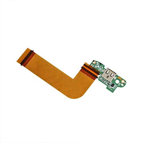 Zahara Power USB Cargador Puerto de carga PCB Junta Reemplazo Para Dell VENUE 11 PRO T06G 5130 Tablet MLD-DB-USB