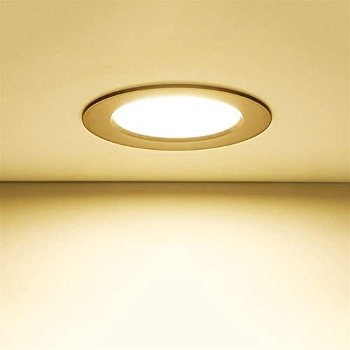 Vinteen - Lámpara de techo de 5 W, color negro, para decoración del hogar, salón, faro, armario, luces decorativas, luz nocturna, corredor, luces (color: luz blanca)