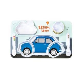 Set voor kinderwagen, Fiat 500, blauw