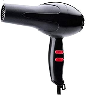 UNIK BRAND™ 1800 Watt Professional Salon Hair Dryer Negative Ionic Blow Dryer, 2 Speed 3 Heat Settings Cool Button with AC Motor, Concentrator Nozzle and Removable Filter (Multicolour)