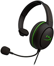 HyperX CloudX Chat Headset – Official Xbox Licensed Headset, Compatible with Xbox One and Xbox Series X|S, 40mm Driver, Noise-Cancellation Microphone, Pop Filter, in-Line Audio Controls, Lightweight