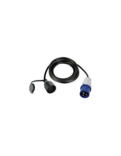 Perel ECEEC3M-3 Câble Adaptateur Mâle vers Prise Cee-3m, Multicolore