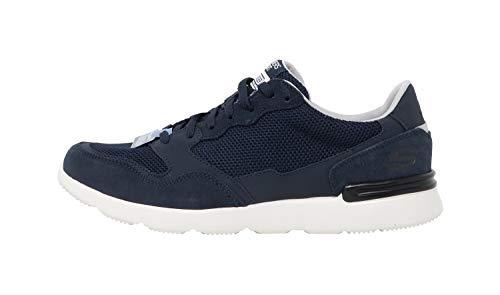 Skechers City Jogger - Zapatillas para Hombre (Espuma viscoelástica), Color Azul Marino