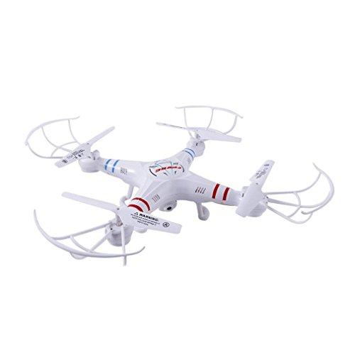FPVRC RC Quadcopter Drone Camera X5C-1 Aereo Elicottero Giocattolo E l'altezza Attesa Funzione 2.4G Senza Testa Flip 3D Di Volo Dell'aeroplano Una Chiave Elicottero Casa Telecomando ( Bianco )