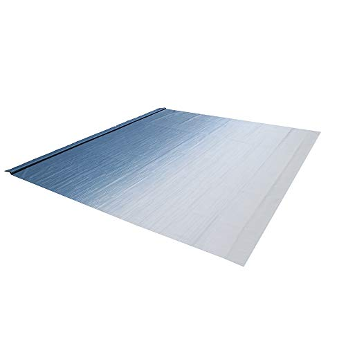 ALEKO Retractable RV Awning Fabric Replacement - 15x8 ft Shade Cover for Camper Trailer or Patio - Blue Fade