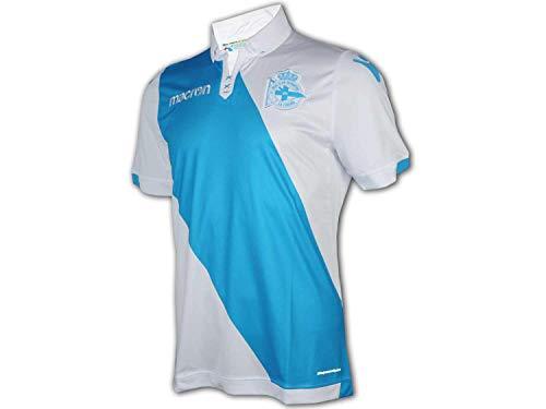 Macron Deportivo La Coruna - Camiseta de fútbol, color blanco