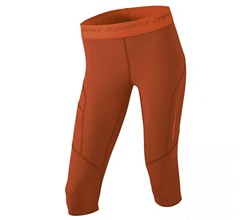 Dynafit - React 3/4 Femmes Fonction Tight (Orange)