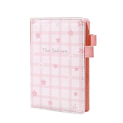 Mini lindo A6 Retro Planta Notebook Retro Notebpad bolsillo Sakula Bloc de notas para estudiantes