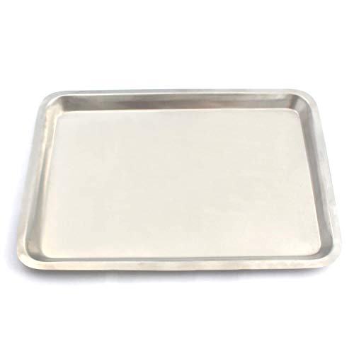 LAJA IMPORTS 12 INCH X16 INCH STAINLESS STEEL COOKIE SHEET