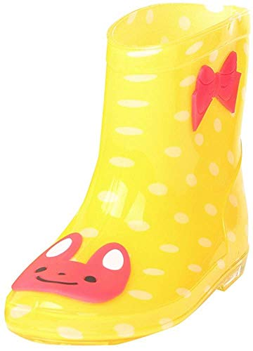 Botas de Lluvia amarillas para bebés