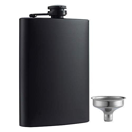 Our #3 Pick is the YWQ Hip Black Matte Flask