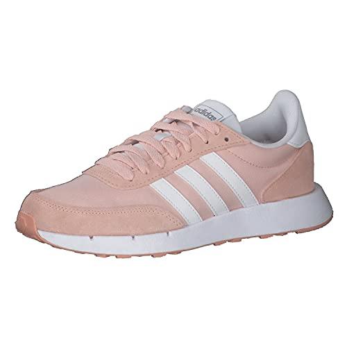 adidas Run 60s 2.0, Zapatillas de Running Mujer, ROSVAP/FTWBLA/HIEMET, 40 EU