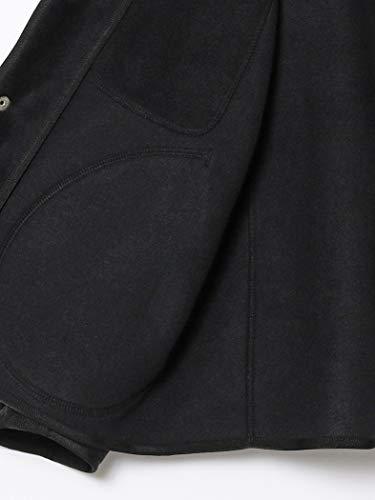 (レイビームス)RayBEAMS/ブルゾンDANTONノーカラーフリースジャケットレディースMARBLE36