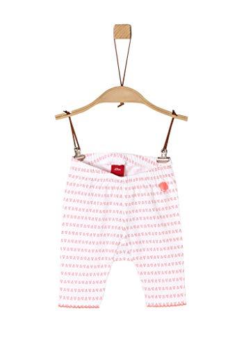 s.Oliver Junior Baby-Mädchen 405.10.005.18.183.2038664 Leggings, 01A6 White AOP, 80/REG