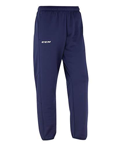 CCM Hose Locker Room Suit Pant SR, L, Dunkelblau