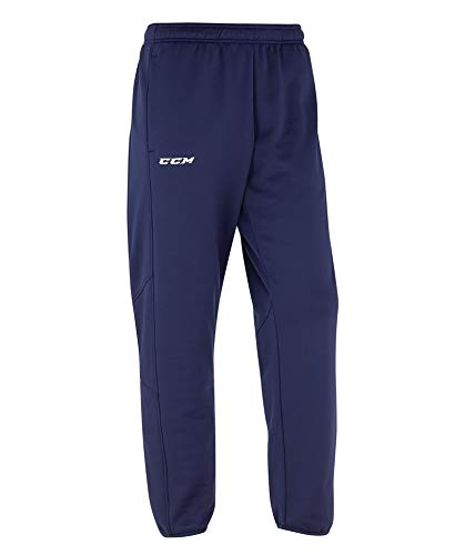 CCM Hose Locker Room Suit Pant SR, L, Dunkelblau