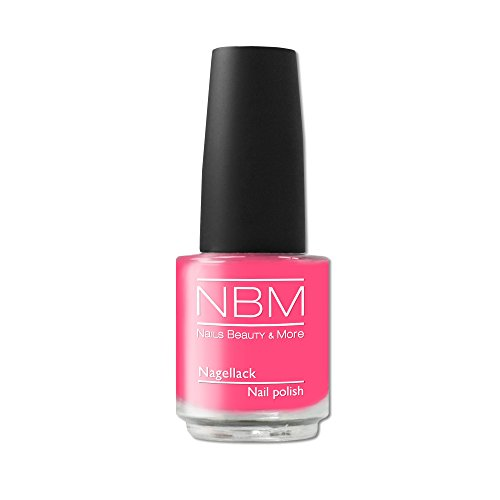 NBM Nagellack Nr. 155 pinky splash, 1er Pack (1 x 14 ml)