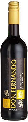Don Fernando Vino Tinto Trocken (1 x 0.75 l) Rotwein aus Spanien
