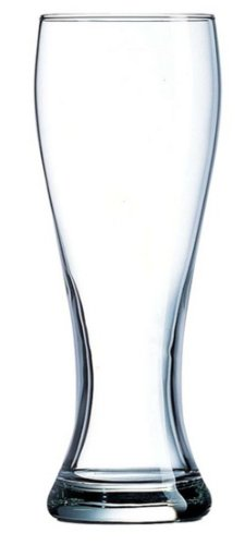 Beer Glasses, 4-Piece Pilsner, 16-Ounce