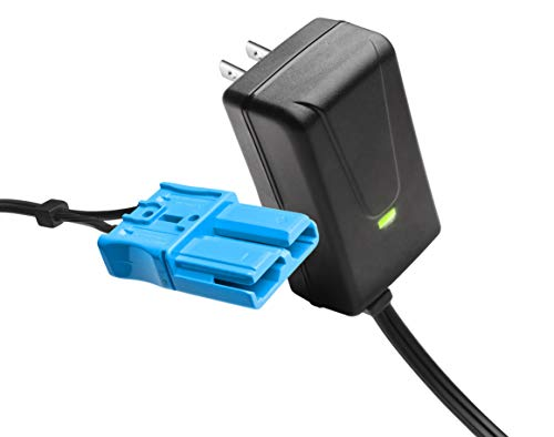 12 Volt Battery Charger with Anderson Connector, for 12V Kid Trax Child Ride On Car Mecerdes ML63 Dodge Ram 3500 Dodge Police Car Dodge Viper More