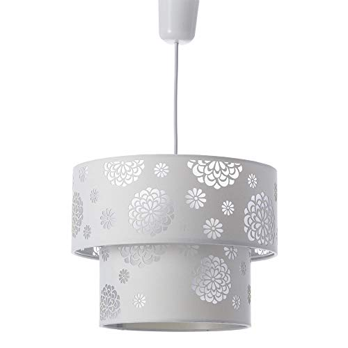 Lámpara de techo de poliéster (Blanco)