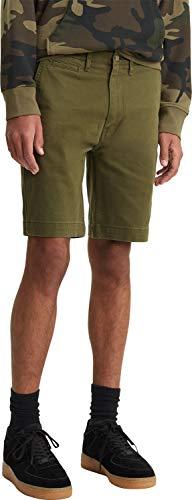Levi's 502 True Chino Short Pantalones Cortos, Azul (Foxtrot Soft Wash Twill...