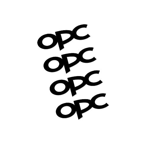 Etiquetas engomadas de las rayas de las llantas Compatible con Opel OPC ASTRA INSIGNIA CORSA MOKKA VECTRA RUEDA DE CUCHO ETIQUETA ETIQUETA EPOSITIVA A prueba de vinilo Película Decoración Auto Decorac