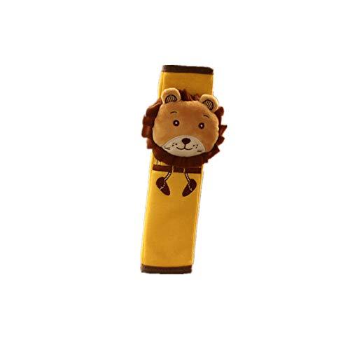 Extensor Cinturon Seguridad Coche Protector Cinturon Coche Correa de asiento de coche Anti Escape El cinturón de seguridad Clips Lion,one size