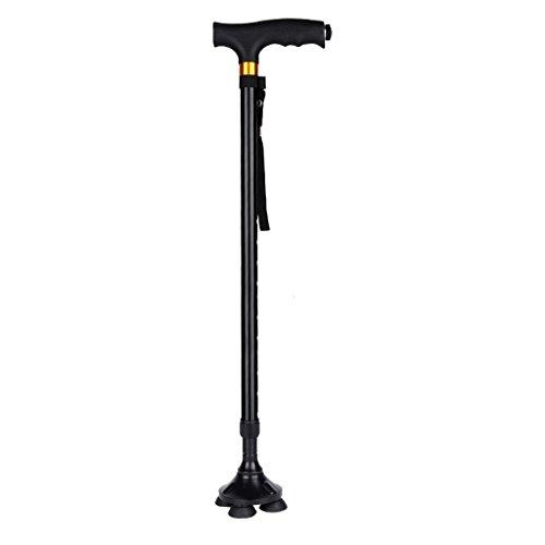 ZhuFengshop Old Man's Walking Stick, Eenhandige kruk, Hulp- Walker Stability