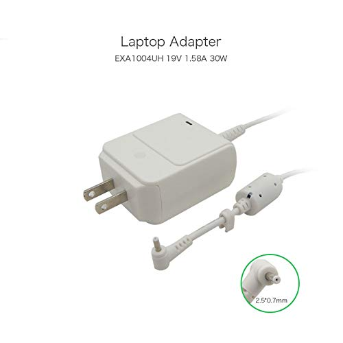 szhyon EXA1004UH Laptop-Ladegerät, 19 V, 1,58 A, 30 W, 2,5 x 0,7 mm, kompatibel mit ASUS Router RT-AC66U RT-N56U RT-N66U