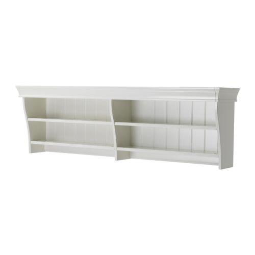 IKEA LIATORP - Estantería de pared o puente (145 x 47 cm), color blanco