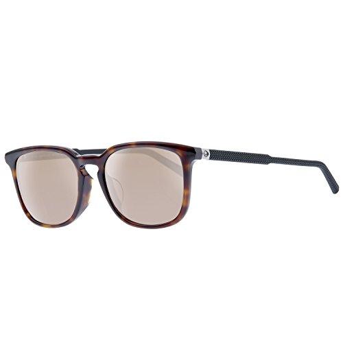 Mont Blanc - Gafas de sol - para hombre marrón Brown Tortoise/ Matte Black