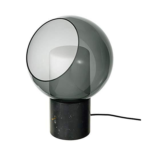 BICCQ Lámparas de Mesa Hotel Sala de Estar Dormitorio Noche lámpara de Cama LED Modelo de Lujo mármol de Vidrio lámpara de Mesa