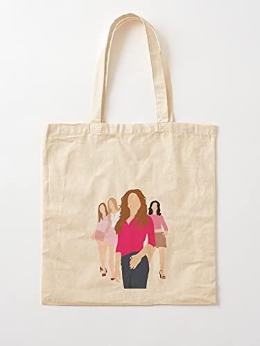 Générique Cady Mean Karen Gretchen Girls Regina Movies   Bolsas de lona con asas de algodón duradero